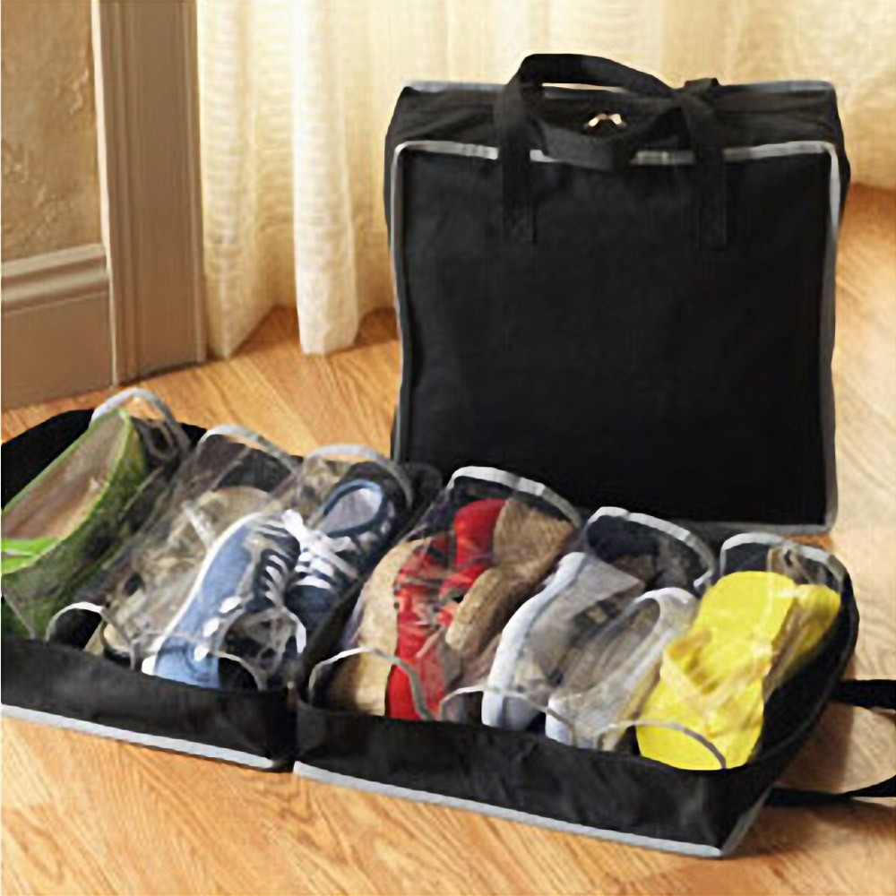 Переносная обувь, дорожная сумка для хранения пыли, сумка для хранения обуви, сумка-тоут, спортивная сумка, 6 сетчатая обувь, сумка для хранен...