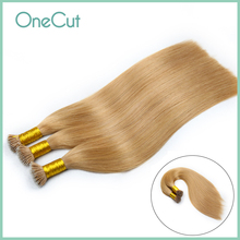 Nano Ring Micro Bead Loop Human Hair Extentions 100% Real Remy Hair Natural Machine Made Straight Pure Color Pre-bonded Nano Tip