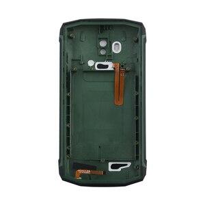 Image 5 - 신화 원래 Blackview BV5800 배터리 백 커버 마이크 BV5800 프로 IP68 휴대 전화 수리 부품 백 하우징