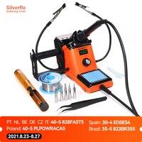 YIHUA 926LED-III Digital Kit de soldadura eléctrico de hierro con ayudar a manos de 960I ajustable de temperatura portátil Estación de soldadura