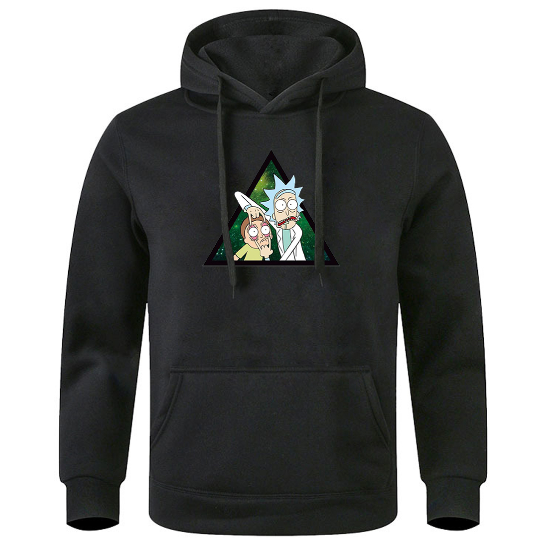 Male Hooded Tops Rick And Morty Men Hoodies 2020 Keep Warm Autumn Winter Sweatshirts Fashion Leisure Clothes Long Sleeve Hoody