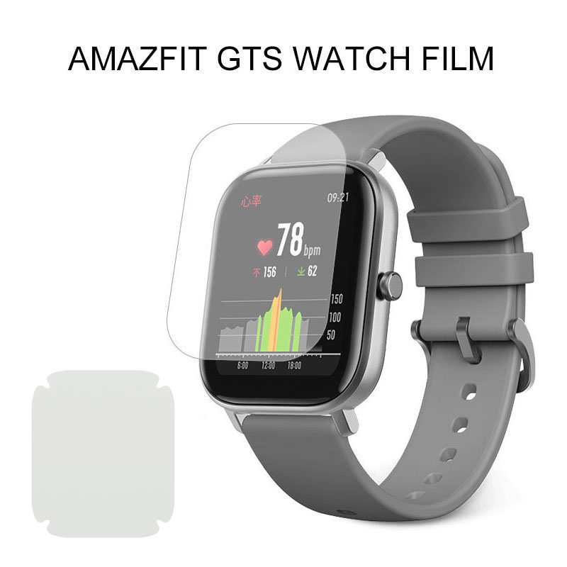 Screen Soft Clear Smart Watch Protector TPU Film Anti-oil Water-proof For Xiaomi Amazfit GTS Full HD TPU Movie Watch