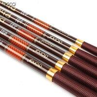 DONQL 3.6m-7.2m Meters Stream Hand Fishing Rods Telescopic Carbon Fiber Ultra Light Hand Pole Carp Fishing Pole Fish Tackle
