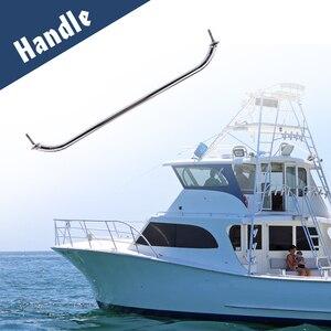 Image 1 - 1 adet cilalı tekne küpeşte paslanmaz çelik yat deniz kapak kulp kapı küpeşte tekne aksesuarı korozyon direnci