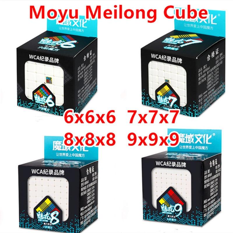 Скоростной куб Moyu Meilong 6x6x6 7x7x7 Mofang Jiaoshi 8x8x8 9x9x9 magic speed 6x6 7x7 головоломка 8x8 9x9 cubo magico развивающие игрушки