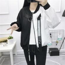 InsGoth Harajuku Partchwork Casual Women Jackets Streetwear