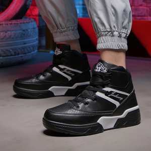 Image 1 - men shoes  mens shoes casual  man shoes leather genuine  sneakers men Canvas shoes walking shoes high top shoesLace up shoes