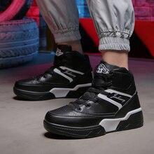 גברים נעלי mens נעליים מזדמנים גבר נעלי עור אמיתי סניקרס גברים בד נעלי הליכה נעליים גבוהה למעלה shoesLace עד נעליים
