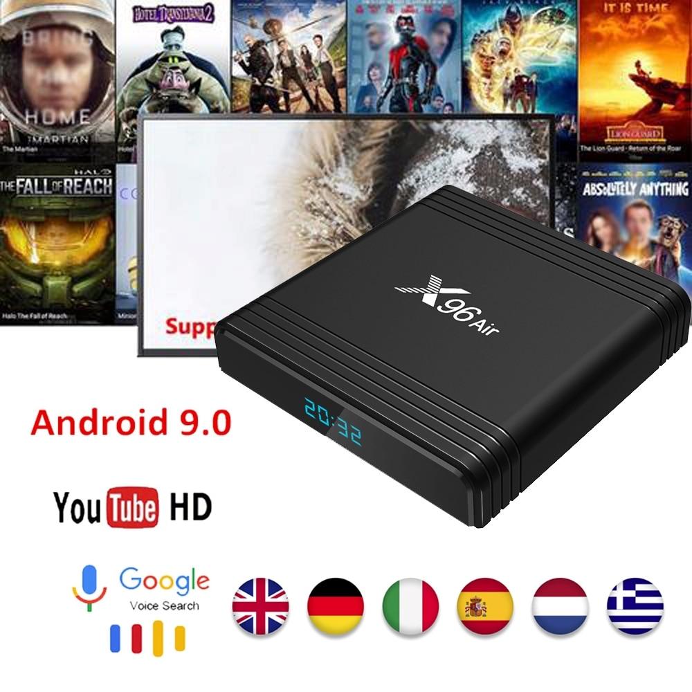 TX6 4K Android 9.0 4G+32G//4G+64G TV BOX Allwinner H6 Quad Core 2.4/&5G WiFi BT4.1