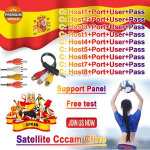 Best Stable Portugal CCCAM Cline Spain Portugal Europe CCCAM Server HD Germany Poland Oscam Cline for Gtmedia v8 nova v7s