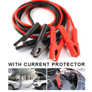 Car Battery Jump Leads 2.2 Meter 1000A Heavy Duty Battery Clamp Fitting Booster Cables Jumper For Van Truck image