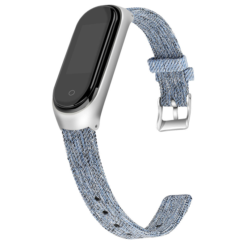 Mi band 4 accessories pulseira miband 4 3 smartwatch straps replacement nylon wristband for xiaomi band 4 bracelet correa strap in Smart Accessories from Consumer Electronics