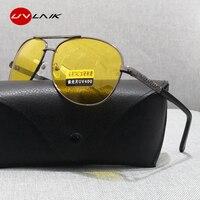 UVLAIK Nachtsicht Gläser Männer TAC Polarisierte Sonnenbrille Frauen Driving Brille Fahrer Gelb Sonnenbrille UV400