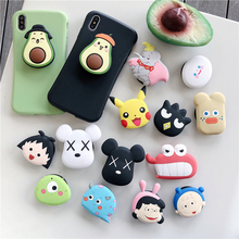 Universal Phone Stand Bracket Expanding Stand Stretch Grip Phone Holder Finger Cute Cartoon Fold Stand for Iphone 7Plus 11 Pro universal phone stand bracket expanding stand stretch grip phone holder finger cute cartoon stand for iphone xiaomi samsu