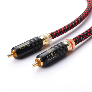Image 3 - Pair CANARE HI End Pure copper RCA To RCA Audio Cable 2RCA Interconnect cable OFC cable