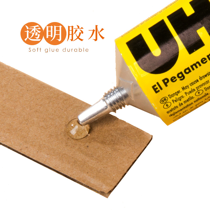 German Uhu Strong Glue 125mm Transparent All-purpose Adhesive Model Glass Metal DIY For Making For Woodworking