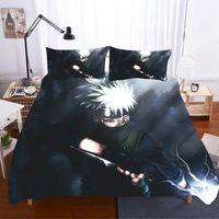 Home Textiles Bed Linen NARUTO Ropa De Cama Luxury Gift Sabanas King Size Bedding Set Bed Linen Coarse Calico Bed Linen Poplin
