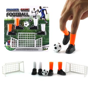 Zabawa mecz piłki nożnej zabawka zabawa palec gra imprezowa zestaw z dwoma celami dzieci zabawa gadżet edukacyjne zabawki tanie i dobre opinie LISHEN Finger Soccer Match Toy 3 lat Unisex Palec lalek