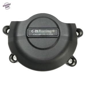 Image 5 - אופנועים מנוע כיסוי מגן מים משאבת מכסה מקרה עבור GB מירוץ עבור ימאהה YZF600 R6 2006 2020