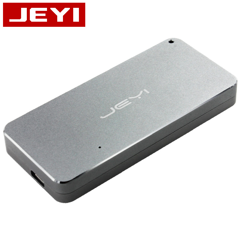 Boîtier mobile JEYI thunderbolt 3 m.2 nvme boîtier boîtier NVME à TYPE-C en aluminium TYPE C3.1 m. 2 USB3.1 M.2 PCIE U.2 SSD LEIDIAN-3 - 2