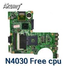 Akemy placa-mãe para For DELL inspiron n4030 mainboard pga989 0h38xd CN-0H38XD hm57 48.4ek01. 021 com teste gráfico bom cpu livre