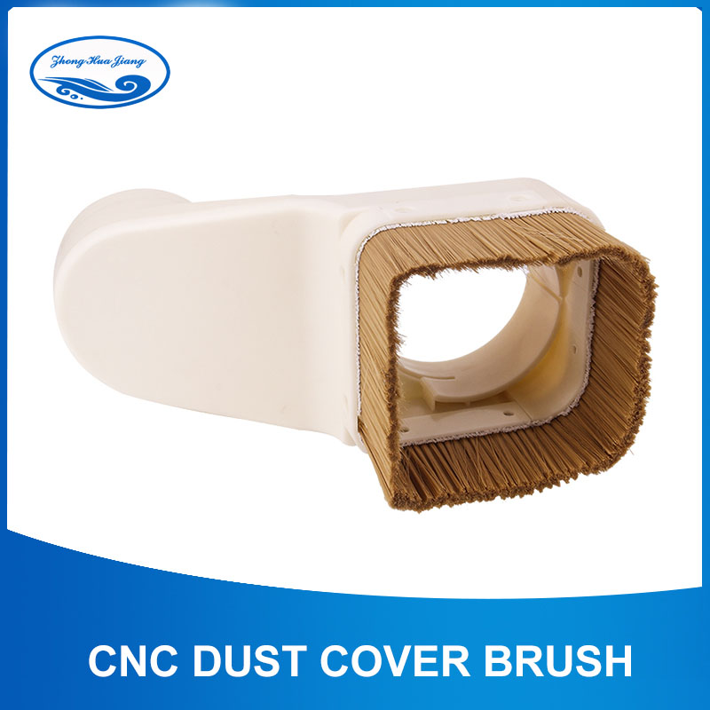 CNC Dust Cover Brush 70mm/75mm/85mm/90mm/100mm Diameter Vaccumn Cleaner Easy Clearing For CNC Milling Machine