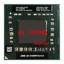 AMD A6-Series A6-3430MX A6 3430MX 1.7 GHz Quad-Core Quad-Thread CPU Processor AM3430HLX43GX Socket FS1