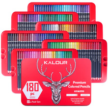 180 Colors Wood Oil Colored Pencils Profesional Set Pastel Pencils Artist Painting For Drawing Sketch School Art Suppli