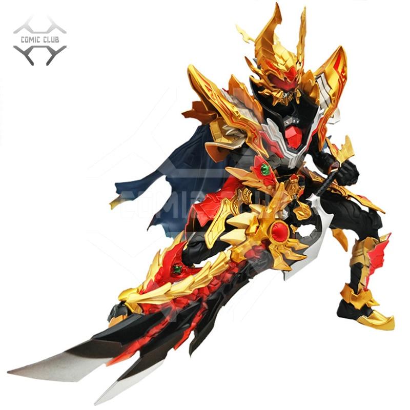 Image 5 - COMIC CLUB in stock AULDEY Armor Hero Chronicles Emperor Hero Dragon Armor evolution version action figure toyAction & Toy Figures   -