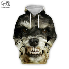 PLstar Cosmos dog 3D Printed Hoodie/Sweatshirt/Jacket/shirts Mens Womens hip hop apparel Animal print clothing Drop shipping animal print drop shoulder sweatshirt