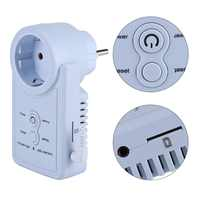 English Russian SMS Control Smart GSM Power Plug Socket Outlet Switch with Temperature Sensor Timing Control