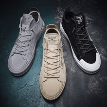 Men's Leather Casual Shoes Autumn Genuine Leather Adult Fashion Mens Casual High
