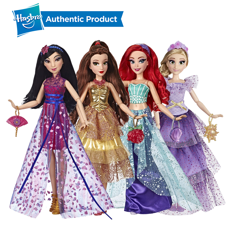 Hasbro Disney Princess Style Series Birthday Gifts Ariel Doll In Contemporary Style Princess Ariel Belle With Purse And Shoes