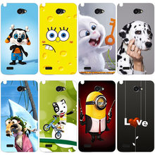 Beautiful Original Soft TPU Printed Cartoon Phone Case For LG Bello 2 II / Prime II / LG Max X155 Cover Printing Drawin Cases(China)