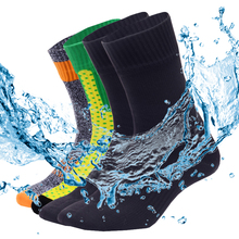Calcetines impermeables para hombre, calcetín profesional, transpirable, para acampar, senderismo, esquí, ciclismo, escalada, calcetines de deporte para correr, talla grande