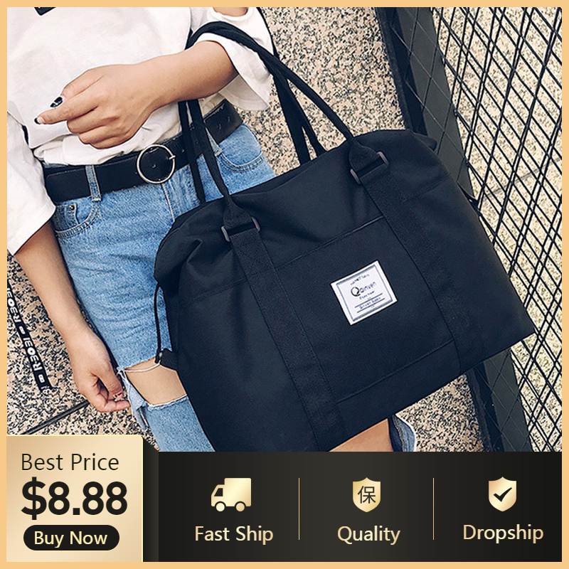2019 Women Shoulder Bags Oxford Casual Travel Tote Bag Big Size Women's Handbags Solid Satchel Women Bags Bolsa Feminina