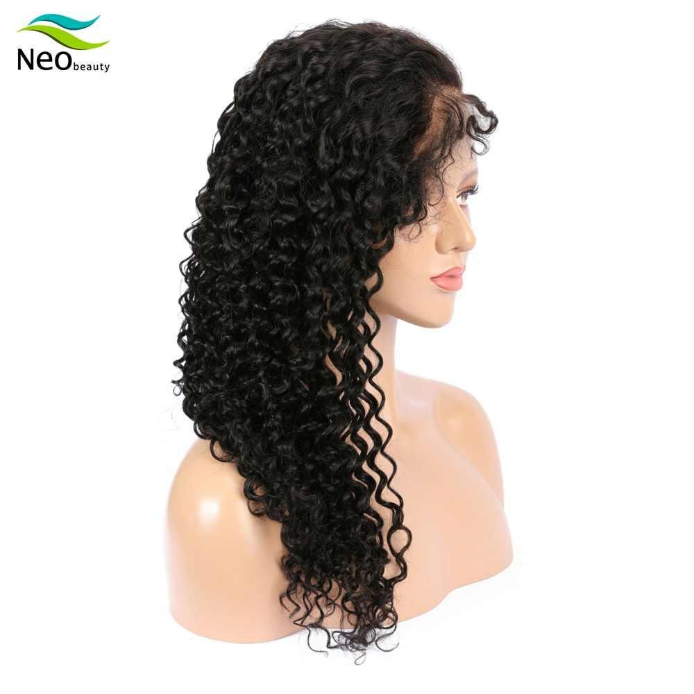 10A derin dalga peruk dantel ön İnsan saçı peruk 1B kıvırcık peruk ücretsiz kargo