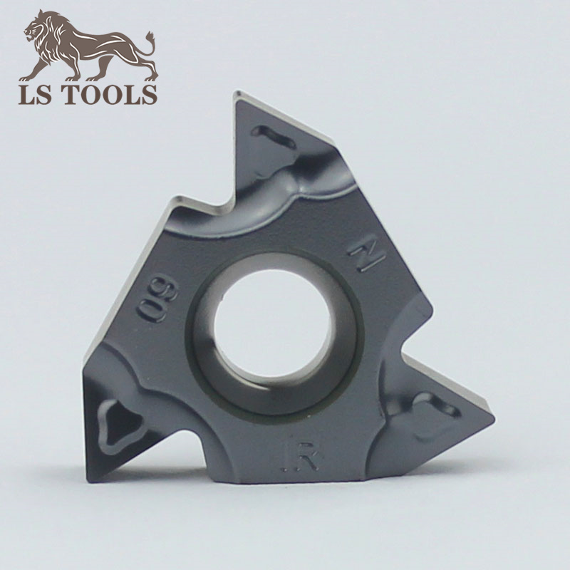 Lathe Thread Turning Tools Carbide Inserts 16ER 16IR Die Pressing Inserts Blade 60 55 Pitch A(0.5-1.5mm)G(1.75-3mm)AG(0.5-3mm)