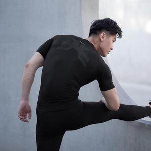 Image 3 - Мужская Спортивная Футболка Xiaomi ZENPH с мониторингом в реальном времени, высокая эластичность, быстросохнущая летняя спортивная футболка для бега с коротким рукавом