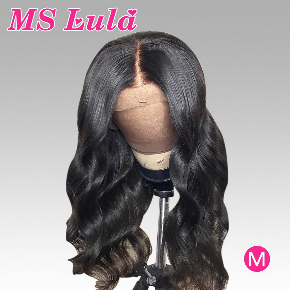 360 Lace Frontal Wig Pre Plucked With Baby Hair Remy Wigs For Black Women MS Lula150%  Long 30 Inch Brazilian Body Wave Lace Wig