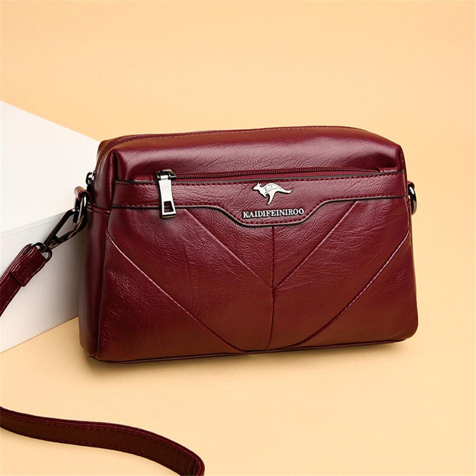 Woman Shoulder Bag Designer Genuine Leather Women Messenger Bags Brand Tote Flap Female Handbag Crossbody Bags For Women Sac