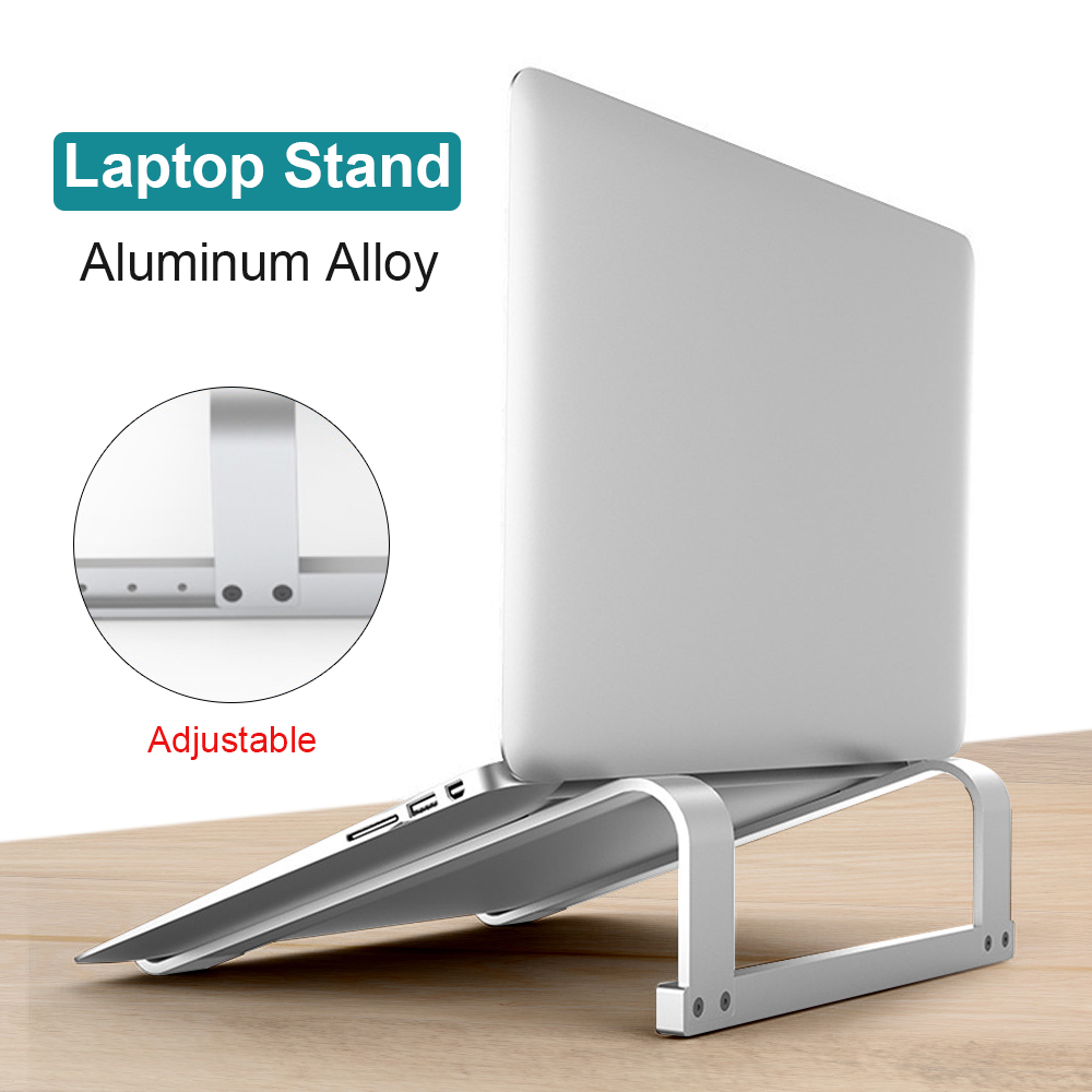 Aluminum Alloy Adjustable Laptop Stand Folding Portable Support Notebook Holder For MacBook Air Pro Computer Stand Riser