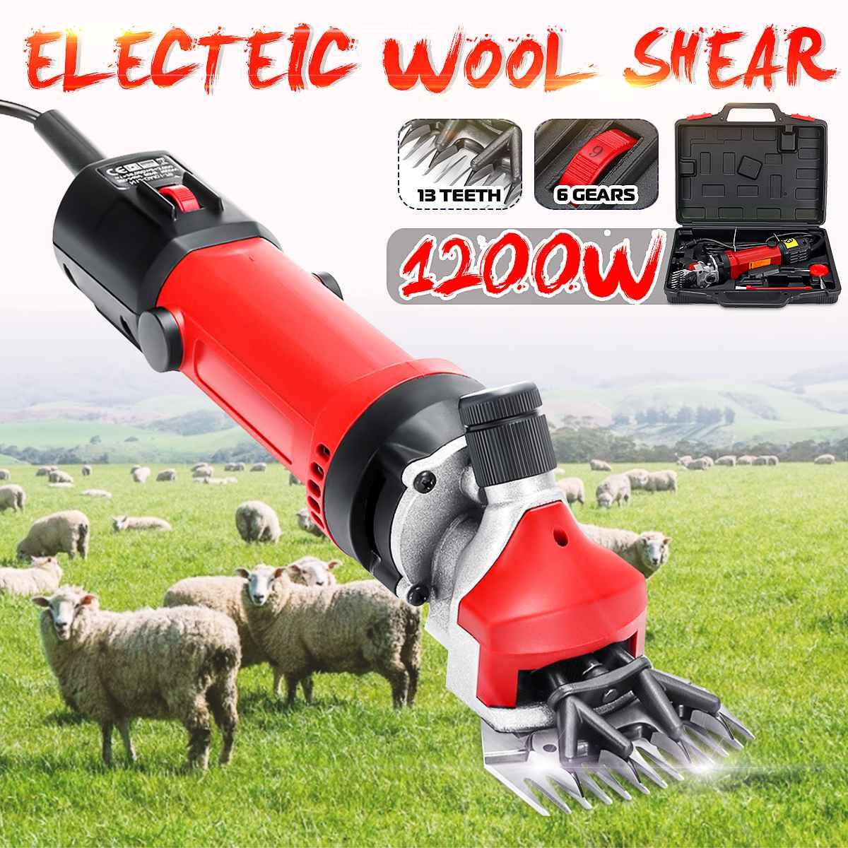 1200 Вт электрическая машинка для стрижки овец и домашних животных с европейской вилкой, набор для стрижки волос, ножницы для стрижки шерсти,