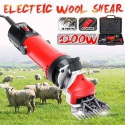 1200W EU Plug Электрические для стрижки овец кусачки для шерсти домашних животных, набор для стрижки шерсти, ножницы для стрижки животных, товары ...