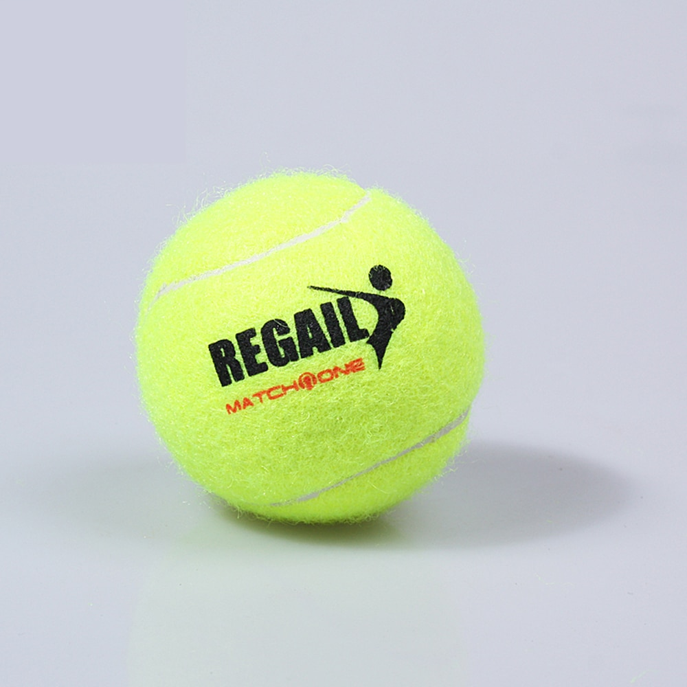 Tennis Rubber Ball Training Device Train Tennis With Rope Trainer Exercise Practice High Resilience Portable