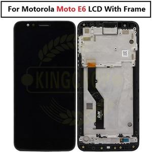 Image 5 - Pantalla LCD para Motorola Moto E6s E6 Play E6 Plus, Sensor de ensamblaje de digitalizador con pantalla táctil para moto E6 Plus E6 E6S LCD con marco