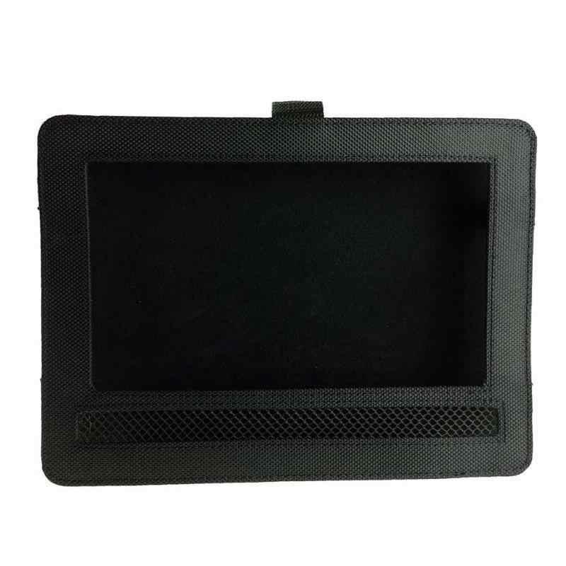 """HiMISS 10,5 """"Portable negro paño reproductor DVD coche reposacabezas soporte para DBPower"""