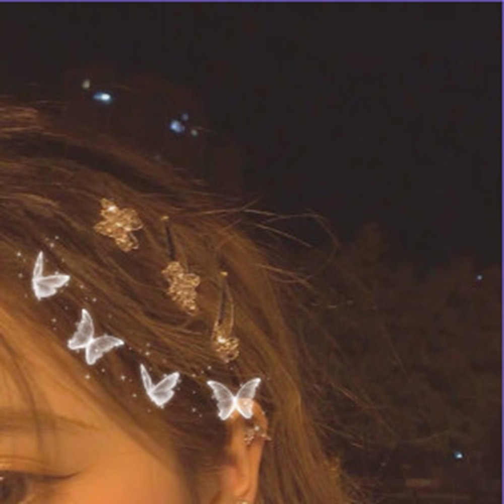 Little Butterfly Hairpin Dreamy Sweet Side Clip Hair Accessories Girl Bangs Clip