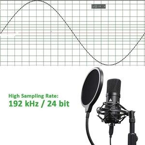 Image 2 - MAONO Kit de micrófono USB de 192KHZ/24 bits para ordenador, condensador de AU A04T, Podcast, Streaming, Plug & Play, micrófono para YouTube y juegos