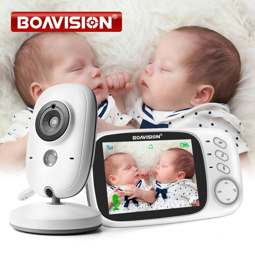 VB603 Video Baby Monitor 2.4G Wireless With 3.2 Inches LCD 2 Way Audio Talk Night Vision Surveillance Security Camera Babysitter|monitor wireless|monitor babymonitor video - AliExpress
